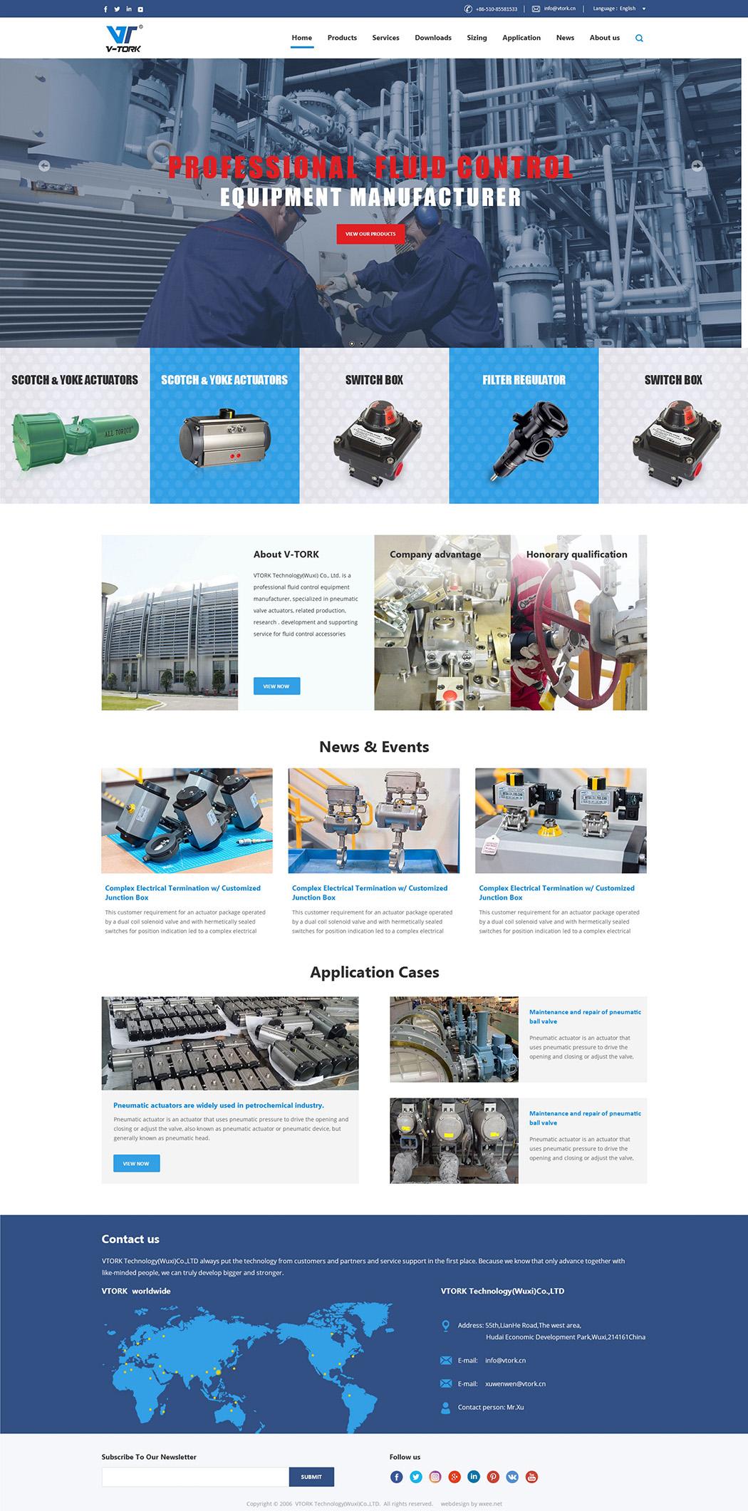 无锡外贸网站设计效果图